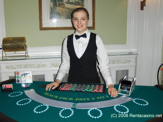 Casino Party Dealter