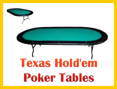 Texas Hold'em Table